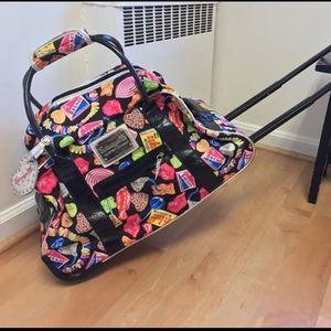 Betsey Johnson Candy Suitcase 🍭